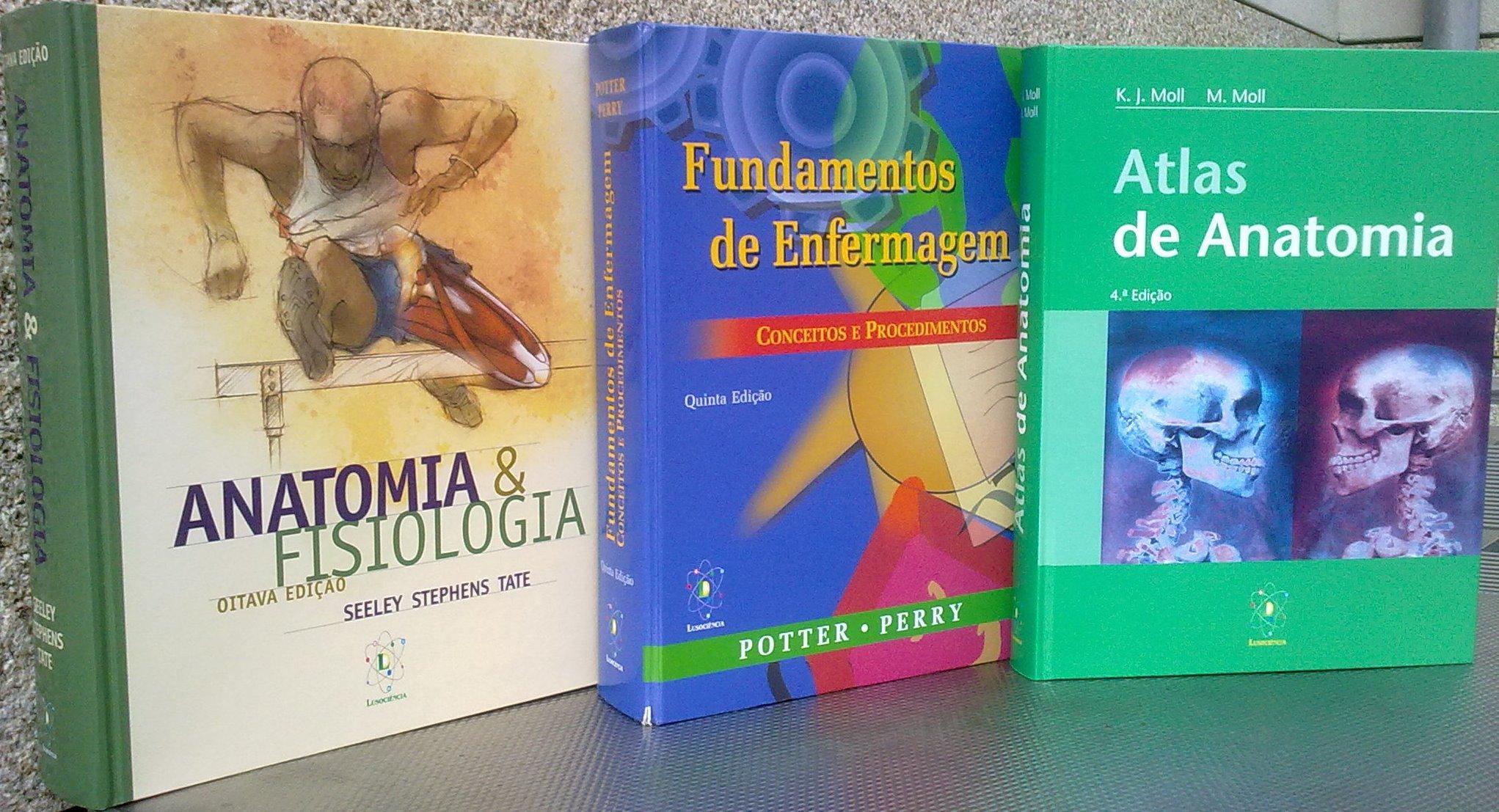 Pack: Anatomia & Fisiologia seeley 8ª ed.+ Fundamentos de Enfermagem ...