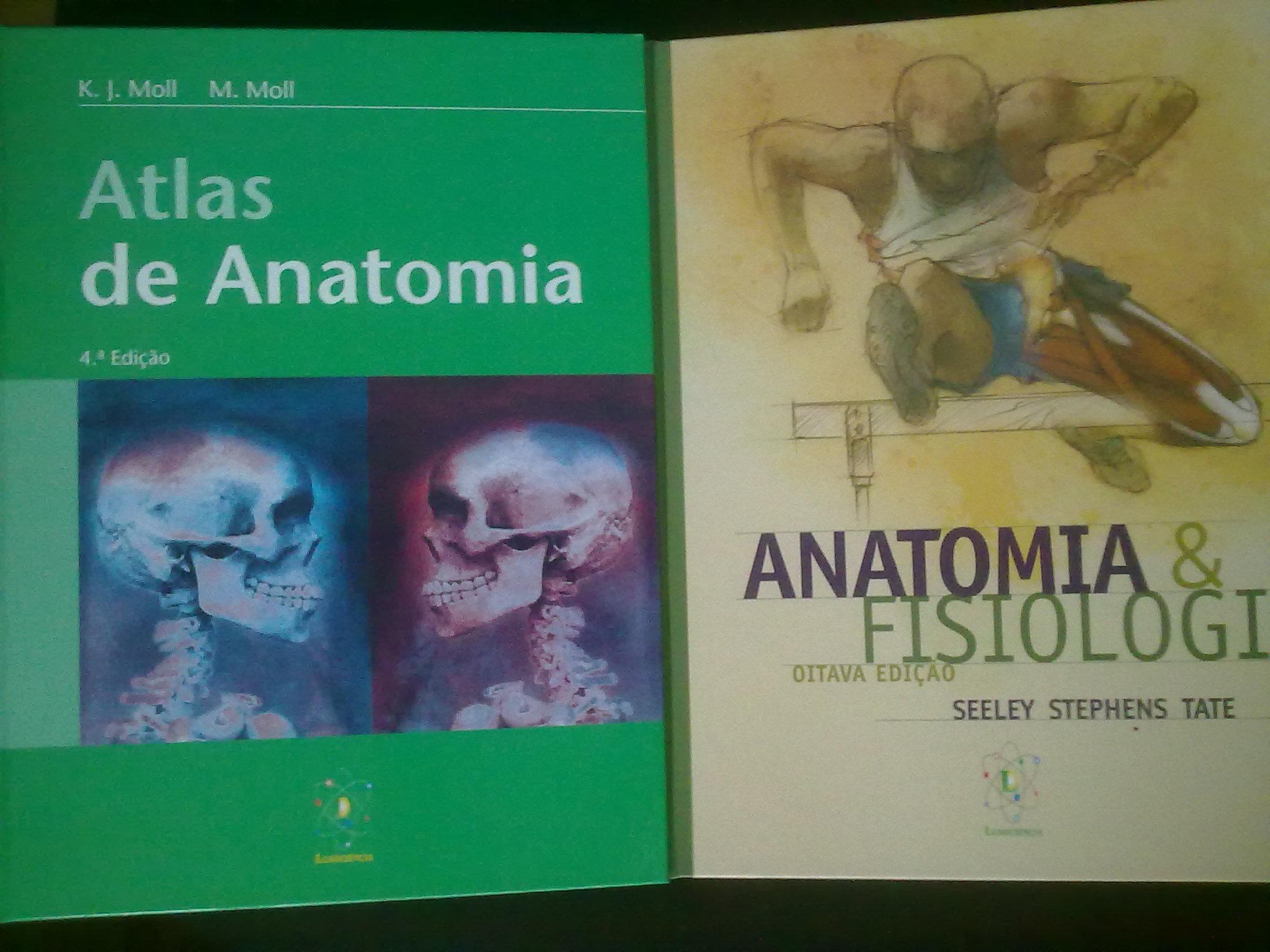 PACK ANATOMIA: Anatomia e Fisiologia seeley + G. de Estudo + Atlas ...